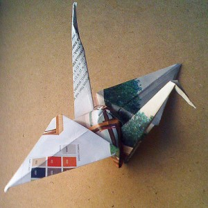 """Origami"", Image by David Wicks"